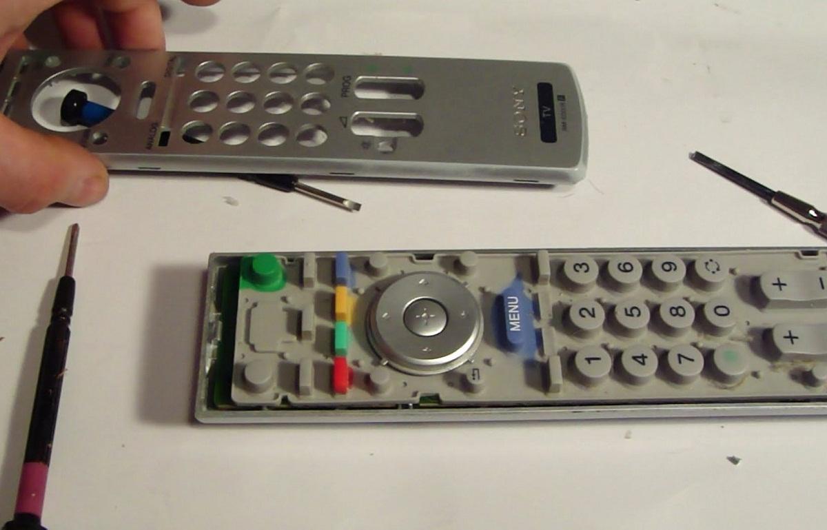 Как отремонтировать пульт от телевизора филипс своими руками 20