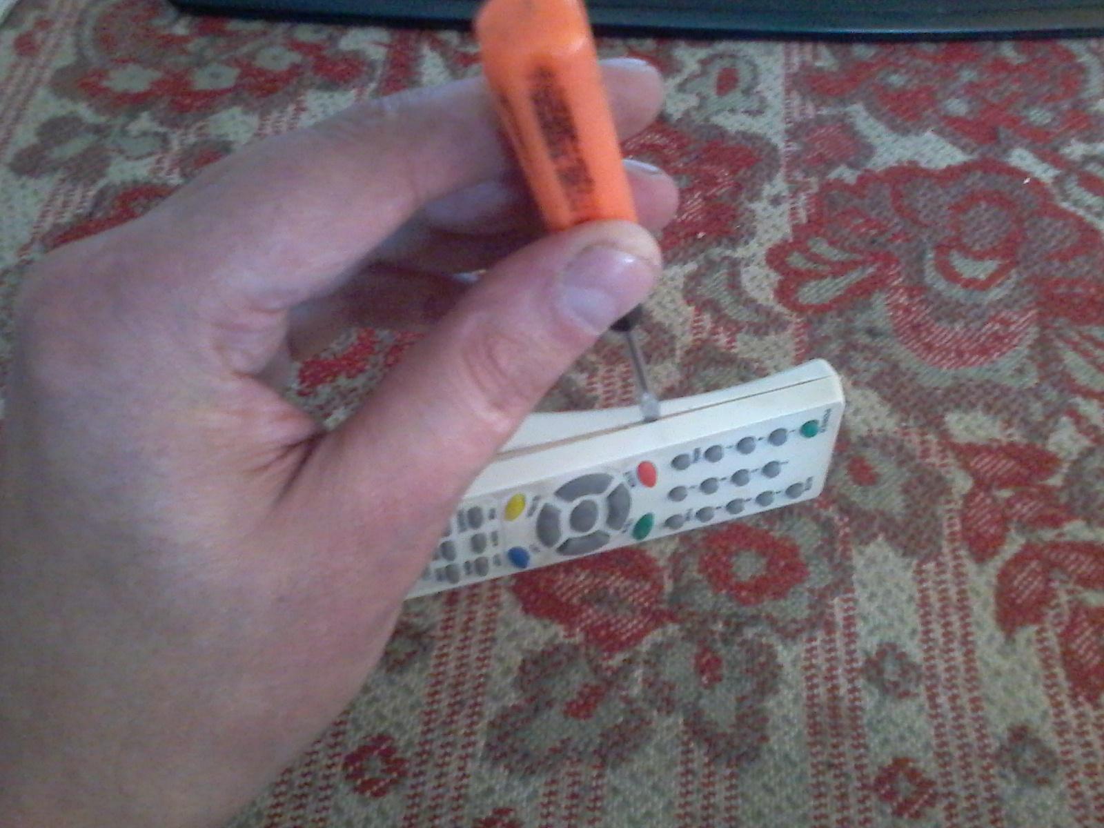 Как отремонтировать пульт от телевизора филипс своими руками 18
